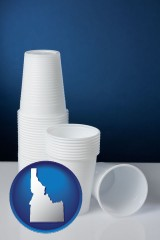 idaho disposable cups