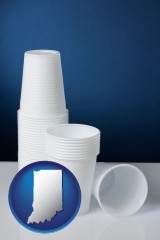 indiana disposable cups