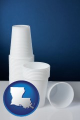louisiana disposable cups