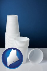 maine disposable cups