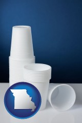 missouri disposable cups