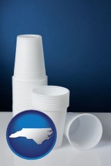 north-carolina disposable cups