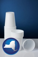 new-york disposable cups