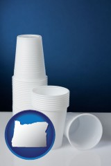 oregon disposable cups
