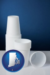rhode-island disposable cups