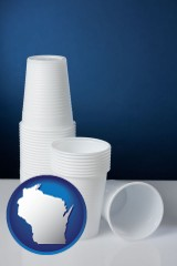 wisconsin disposable cups