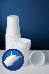west-virginia disposable cups