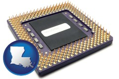 louisiana a microprocessor