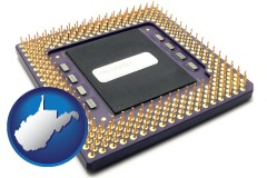west-virginia a microprocessor