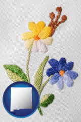 new-mexico hand-embroidered needlework