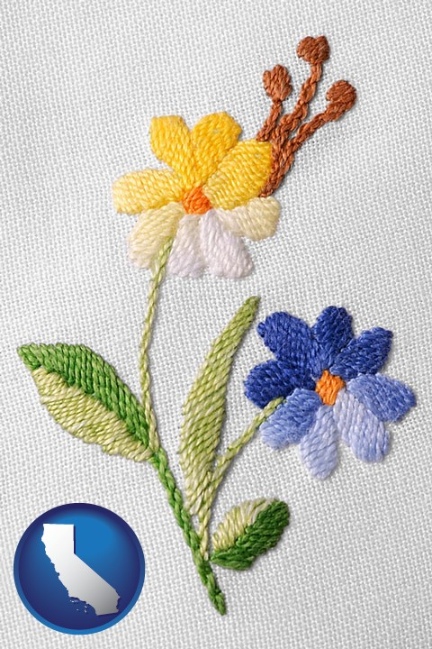 Embroidery Needlework Supplies Retailers In California
