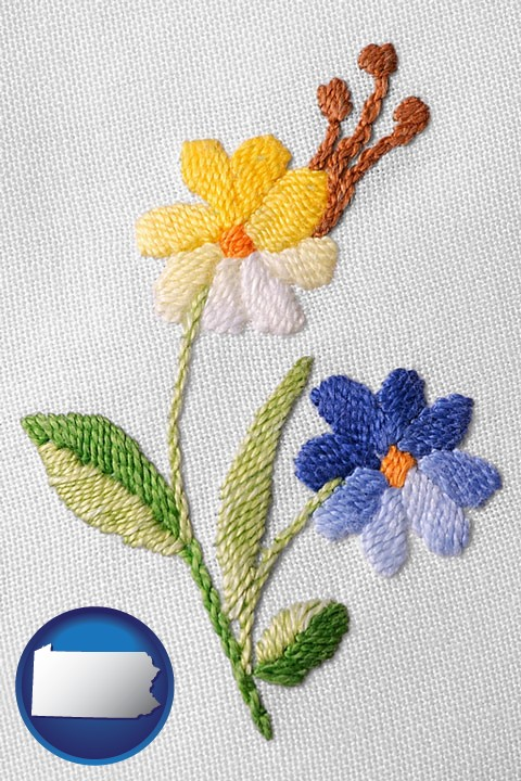 Embroidery & Needlework Supplies Retailers in Pennsylvania