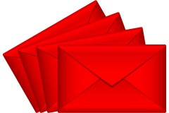 four red envelopes