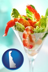 delaware a shrimp cocktail