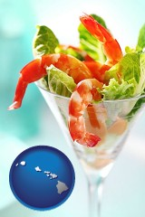 hawaii a shrimp cocktail