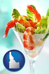 idaho a shrimp cocktail