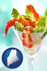 maine a shrimp cocktail
