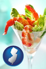 new-jersey a shrimp cocktail