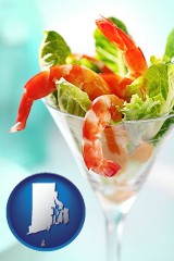 rhode-island a shrimp cocktail