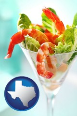 texas a shrimp cocktail