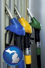 michigan gasoline pumps