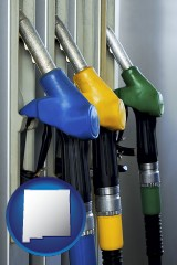 new-mexico gasoline pumps