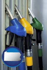 pennsylvania gasoline pumps