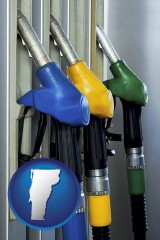 vermont gasoline pumps