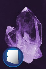 arizona an amethyst gemstone