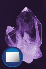 colorado an amethyst gemstone