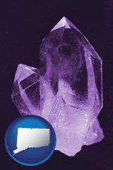 connecticut an amethyst gemstone