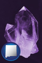 new-mexico an amethyst gemstone