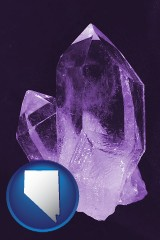nevada an amethyst gemstone