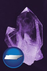 tennessee an amethyst gemstone