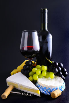gourmet food and wine