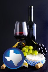 texas gourmet food and wine