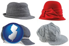new-jersey fashionable caps and hats