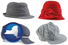 new-york fashionable caps and hats
