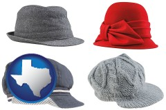 texas fashionable caps and hats