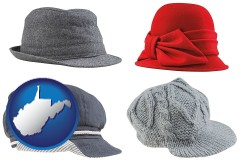 west-virginia fashionable caps and hats