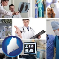 maine hospital equipment and supplies