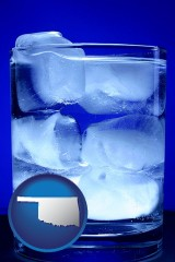 oklahoma a glass of ice water