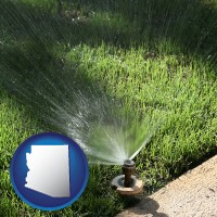 arizona a directional lawn sprinkler