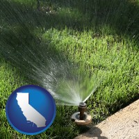 california a directional lawn sprinkler