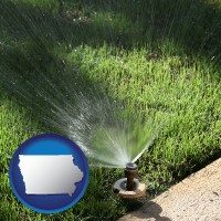 iowa a directional lawn sprinkler
