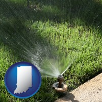 indiana a directional lawn sprinkler