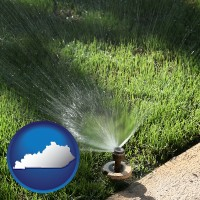 kentucky a directional lawn sprinkler
