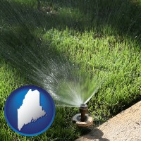 maine a directional lawn sprinkler