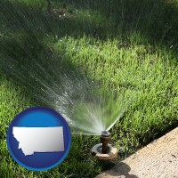 montana a directional lawn sprinkler