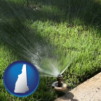 new-hampshire a directional lawn sprinkler